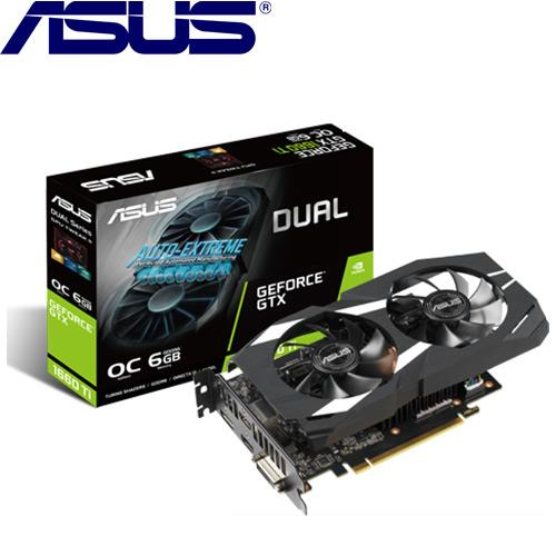 ASUS華碩 GeForce DUAL-GTX1660TI-O6G-GAMING 顯示卡