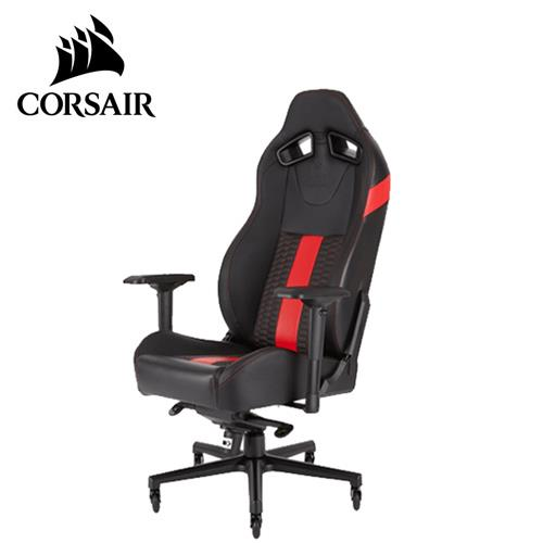 CORSAIR 海盜船 T2 ROAD WARRIOR 電競椅 黑紅