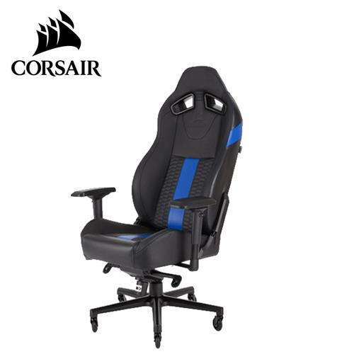 CORSAIR 海盜船 T2 ROAD WARRIOR 電競椅 黑藍