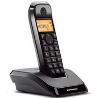 MOTOROLA全免持數位無線電話S1201(黑)