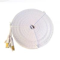 光纖網路專用工程級CAT7高速扁型線 10m