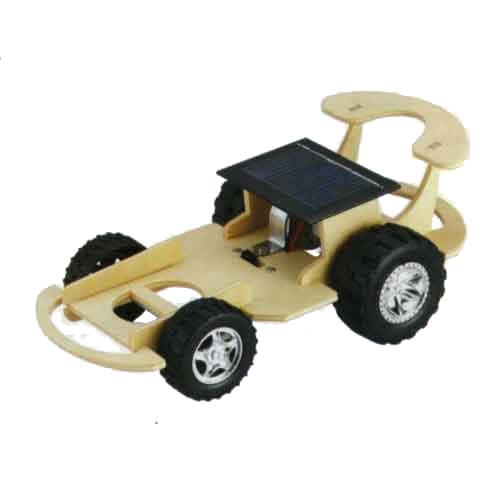 【STEAM手作小學堂】太陽能+電池雙能源動力車