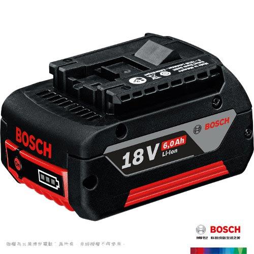 BOSCH 18V 鋰電電池 GBA 18V 6.0Ah (1600A0092L)