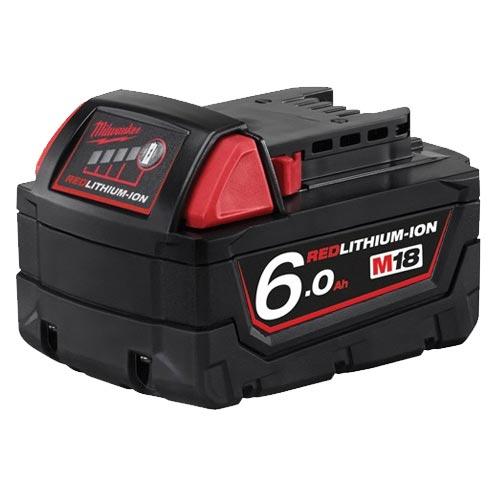 Milwaukee米沃奇 18V鋰電電池 6.0AH