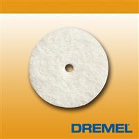 Dremel 414  1/2吋 12.7mm 拋光毛氈 (6入)