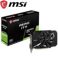 MSI微星 GeForce GTX 1660 AERO 6G OC 顯示卡