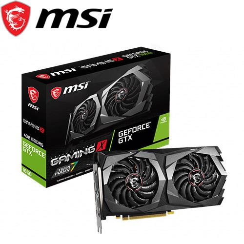 MSI微星 GeForce GTX 1650 GAMING X 4G 顯示卡