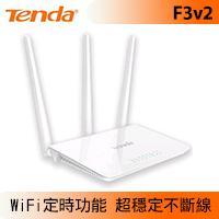 Tenda 騰達 F3v2  N300 無線路由器