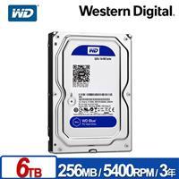 WD60EZAZ 藍標 6TB 3.5吋 SATA硬碟