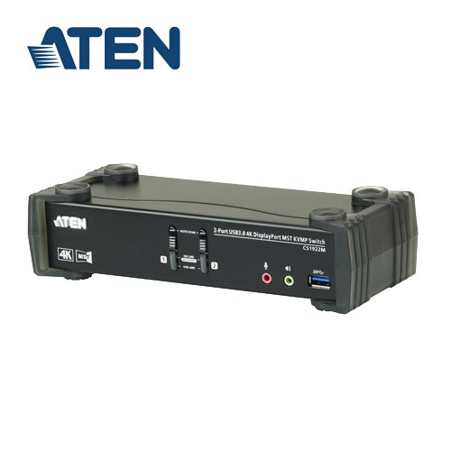 ATEN CS1922M 2埠USB3.0 4K DisplayPort MST KVMP多電腦切換器