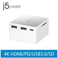 j5 JCDP385 USB Type-C 多功能迷你擴充電源供應器