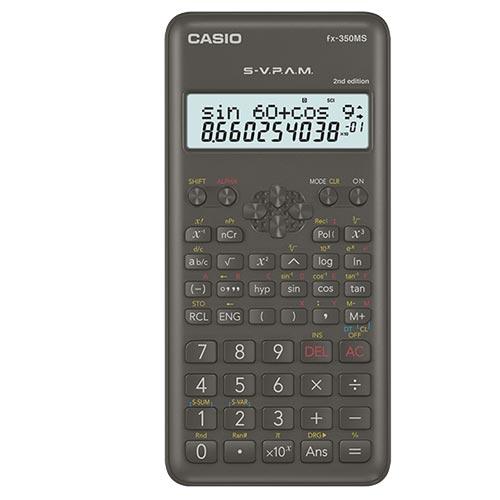 CASIO 工程用計算機 FX-350MS-2