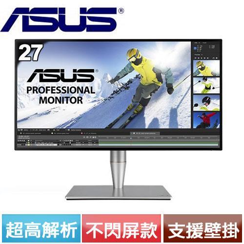 R1【福利品】華碩ASUS PA27AC 27型 IPS寬螢幕【登錄送校正器】