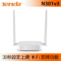 Tenda 騰達 N301v3 300M 無線路由器