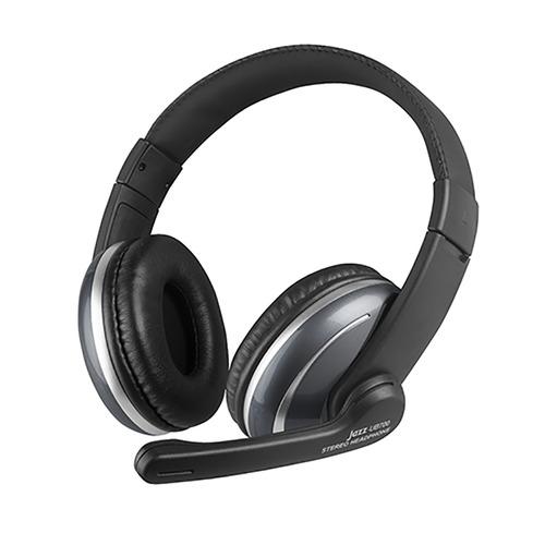 INTOPIC 廣鼎 USB 頭戴式耳機麥克風 JAZZ-UB700