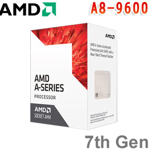 AMD超微 7th Gen A8-9600 APU 處理器