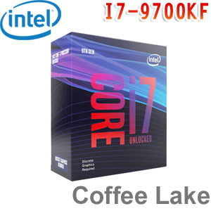Intel英特爾 Core i7-9700KF 處理器 (無內顯功能及風扇)