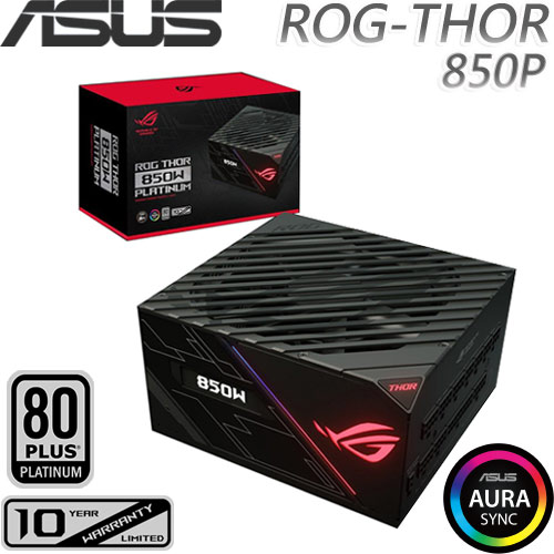 ASUS華碩 ROG Thor 850W 白金級電源供應器