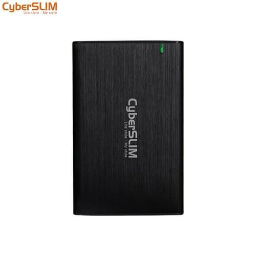 CyberSLIM 2.5吋SATA硬碟外接盒 Type-C 紳士黑 B25U31-BK