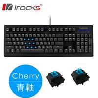 i-Rocks 艾芮克 IRK65MN 機械電競鍵盤 cherry 青軸 中文