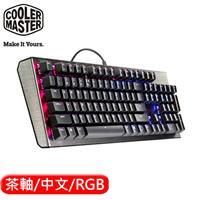 Cooler Master  酷媽 CK550 機械式電競鍵盤  RGB 茶軸