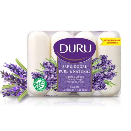 土耳其Duru植粹保濕香皂85g*四入/組-薰衣草