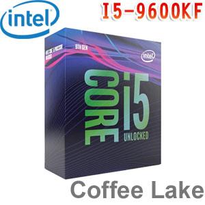 Intel英特爾 Core i5-9600KF 處理器 (無內顯功能及風扇)