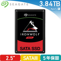 Seagate 那嘶狼【IronWolf 110】3.84TB 2.5吋固態硬碟 (ZA3840NM10011)