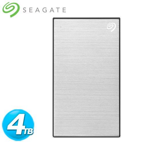 Seagate希捷 Backup Plus Por 2.5吋 4TB 銀(STHP4000401)