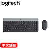 Logitech 羅技 MK470 超薄無線鍵鼠組 石墨灰