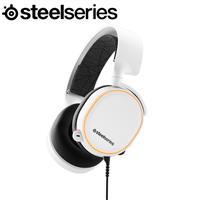 SteelSeries 賽睿 Arctis 5 耳機麥克風 白 2019