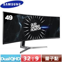 R1【福利品】SAMSUNG三星 49型 Dual QHD 曲面電競螢幕 C49RG90SSC