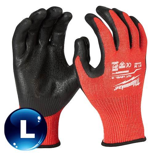 Milwaukee米沃奇 第三級認證防割手套 (L) 48-22-8932