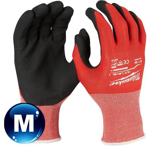 Milwaukee米沃奇 第一級認證防割手套 (M) 48-22-8901