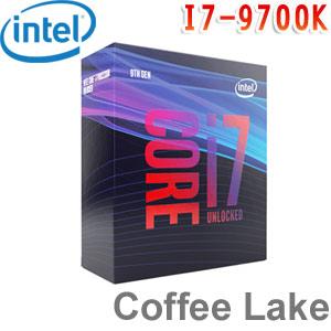 Intel英特爾 Core i7-9700K 處理器 (無風扇)