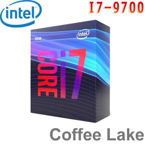 Intel英特爾 Core i7-9700 處理器
