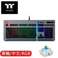 Thermaltake 曜越 Level 20 RGB Cherry機械式電競鍵盤青軸 鈦灰版