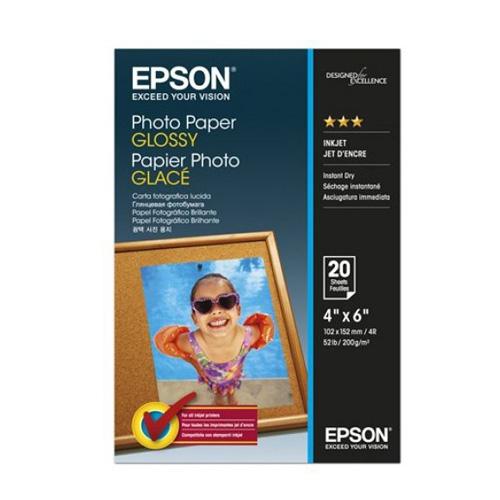 EPSON 4x6超值光澤相片紙S042546 (20入)【買一送一】
