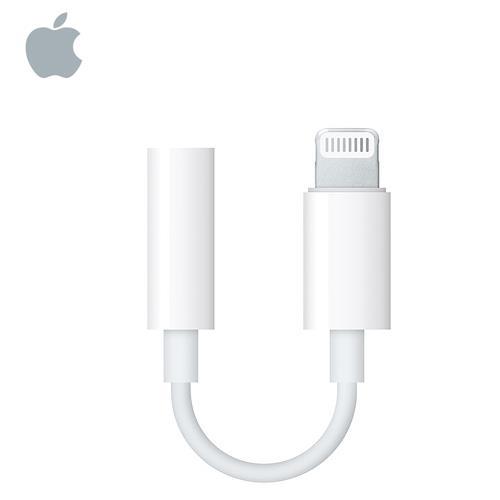 Apple 原廠 Lightning 對3.5mm 耳機插孔轉接器 MMX62FE/A