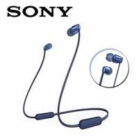 SONY無線藍牙頸掛入耳式耳麥WI-C310-L藍