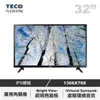 【福利品R1】 東元32型低藍光LED液晶顯示器  TL32K3TRE
