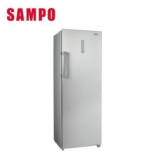聲寶242L直立無霜冷凍櫃  SRF-250F