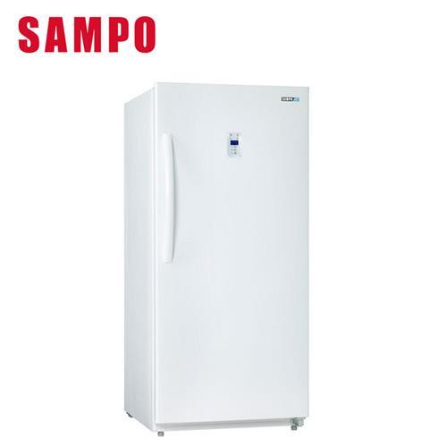 聲寶391L直立式無霜冷凍櫃  SRF390F