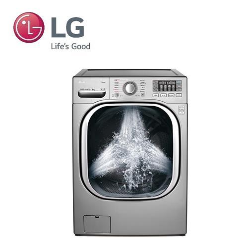 【福利品R1】 LG 19KG 洗脫烘滾筒洗衣機 WD-S19TVC【展示品出清】