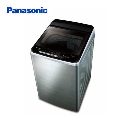 Panasonic11KG變頻洗衣機-鏽  NA-V110EBS-S