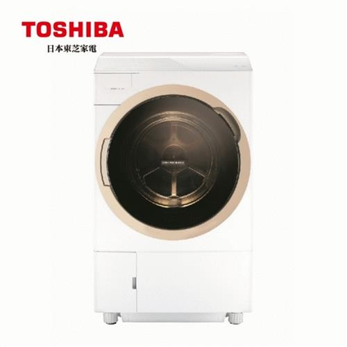 TOSHIBA 11KG洗脫烘滾筒洗衣機 TWD-DH120X5G