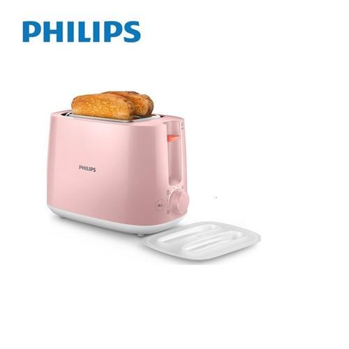 飛利浦厚片烤麵包機 粉  HD2584