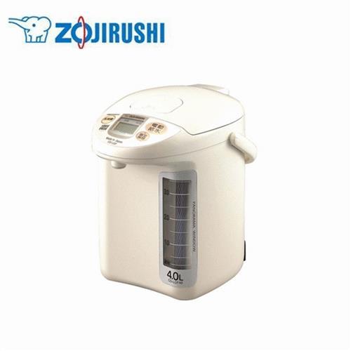 象印4L微電腦電動熱水瓶  ZECDLGF40-WG