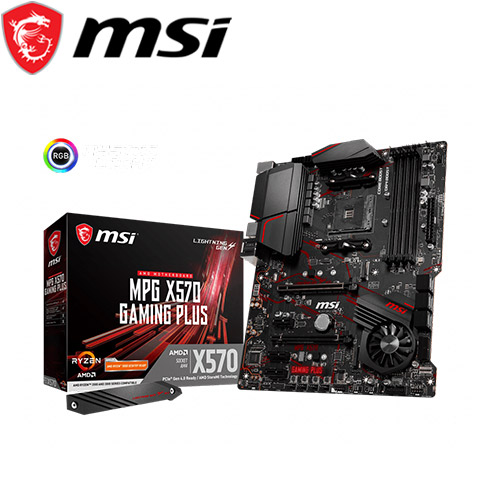 MSI微星 MPG X570 GAMING PLUS 主機板