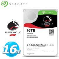 Seagate 那嘶狼【IronWolf】16TB 3.5吋 NAS硬碟 (ST16000VN001)